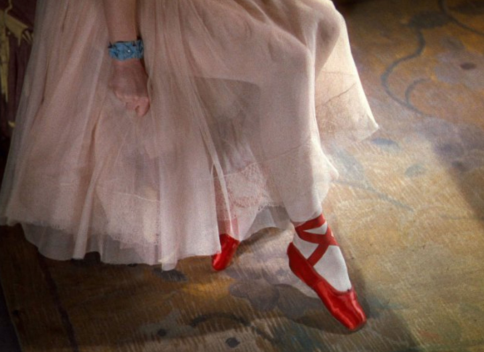 "Filmszene aus ""The Red Shoes"""