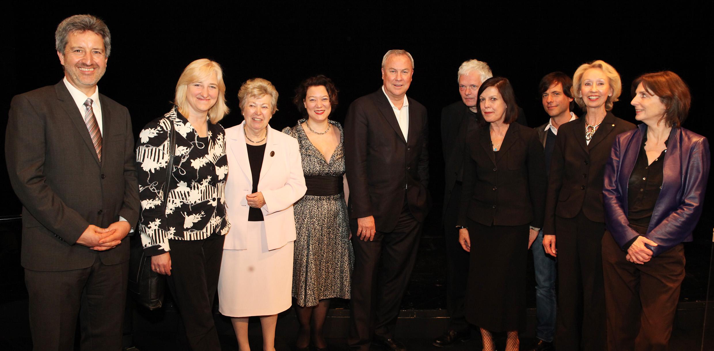 Gruppenbild von der Preisverleihung 2009