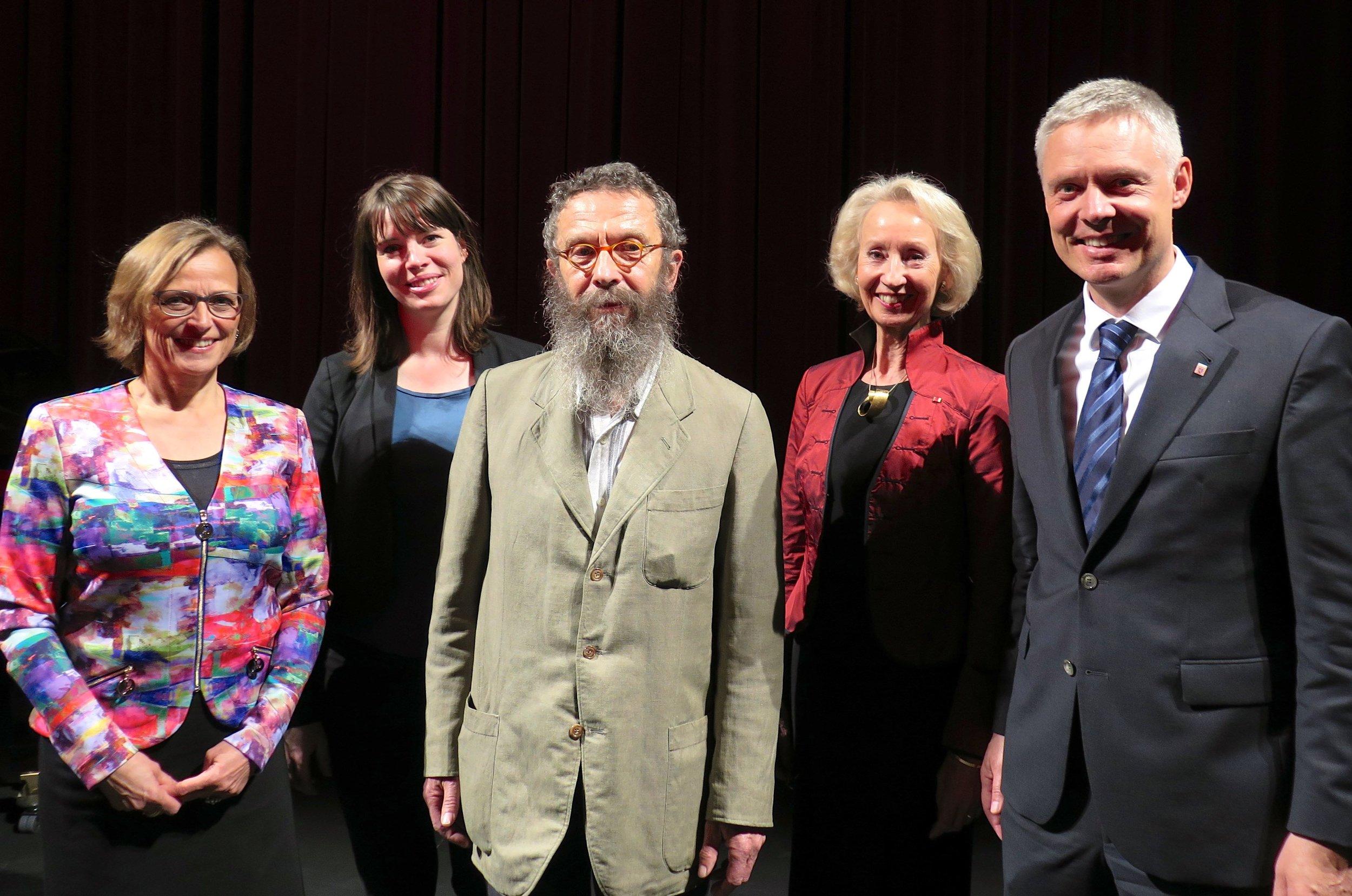 Gruppenbild von der Preisverleihung 2017