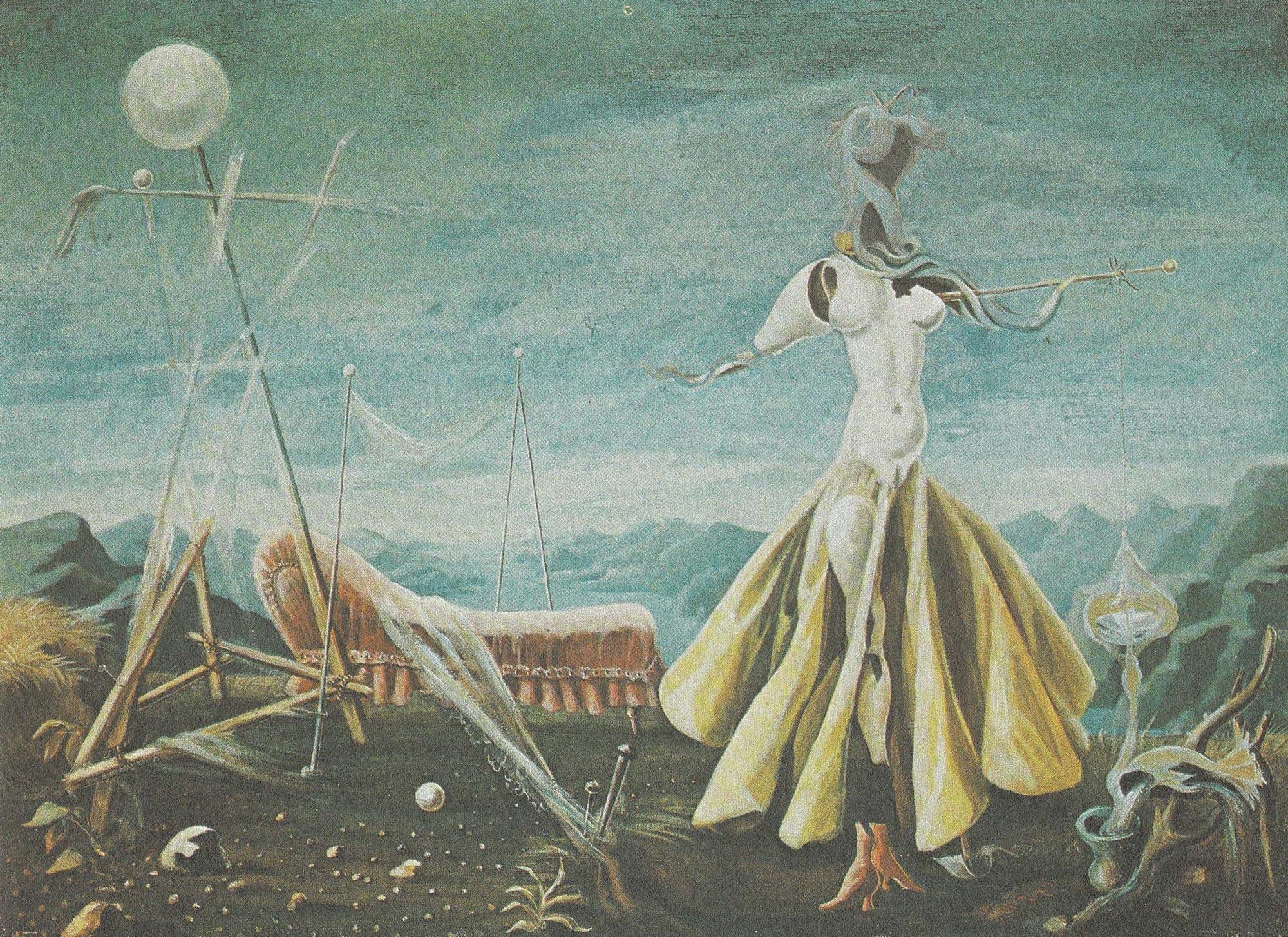 3 Hein Heckroth, Free Love, 1939, Öl auf Leinwand, 76,3 × 101,5 cm (Gabler 1977, Kat.-Nr. 18)