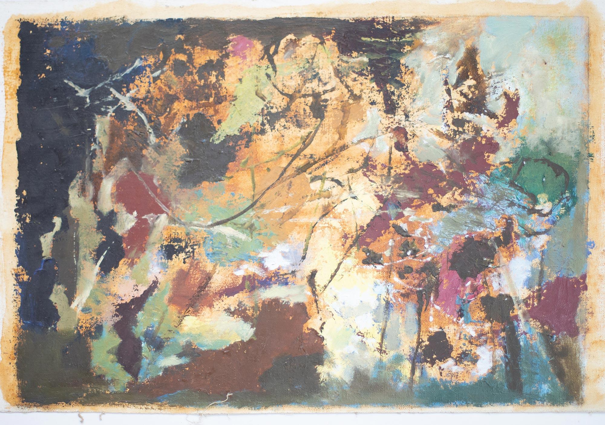 10 Hein Heckroth, o. T., ohne Jahr, Öl auf Leinwand, 36,5 x 61 cm, Privatbesitz