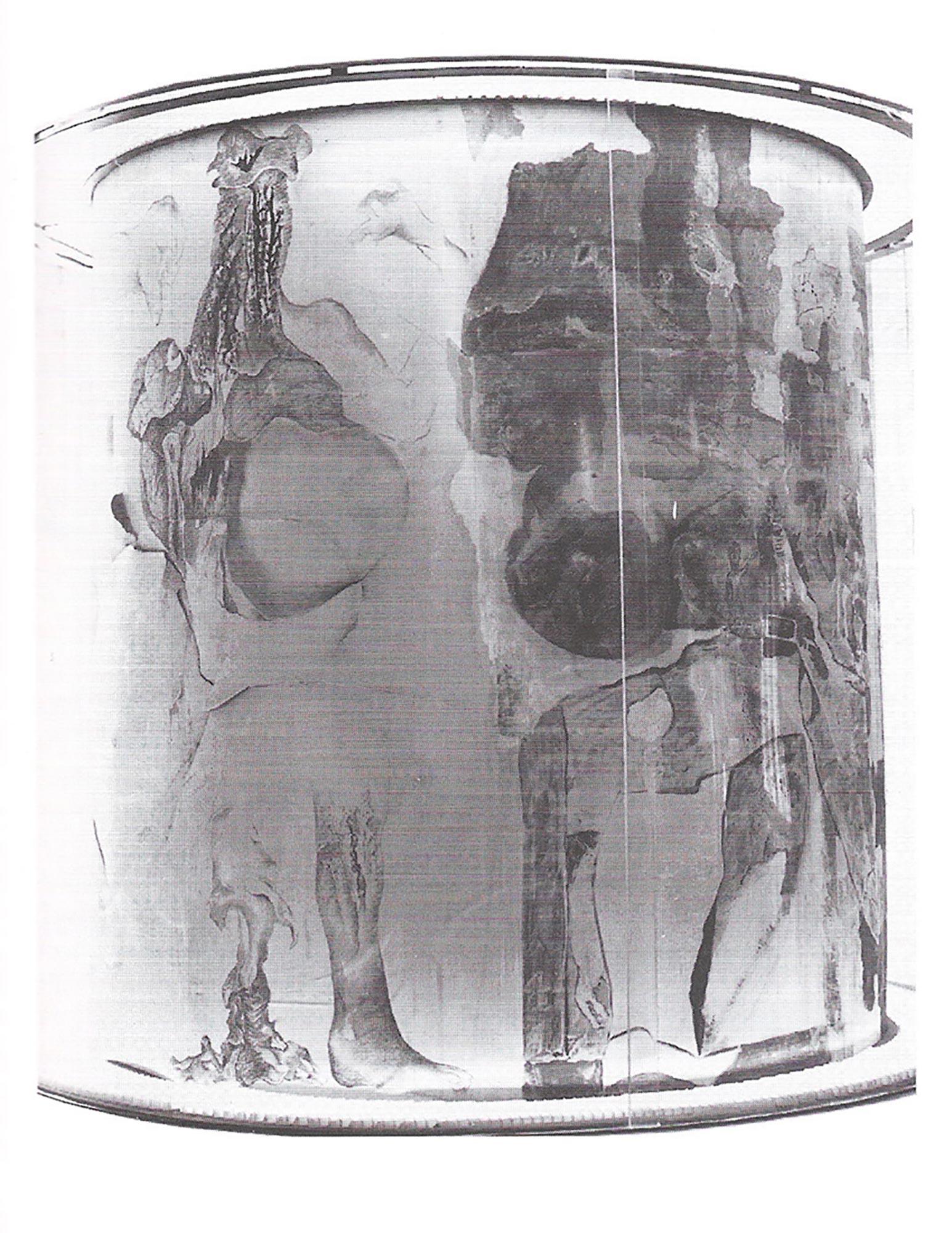 11 Hein Heckroth und Bernard Schultze, Litfaßsäule im Frankfurter Nordwest-Zentrum, 1968, Papiergröße: 150 x 500 cm