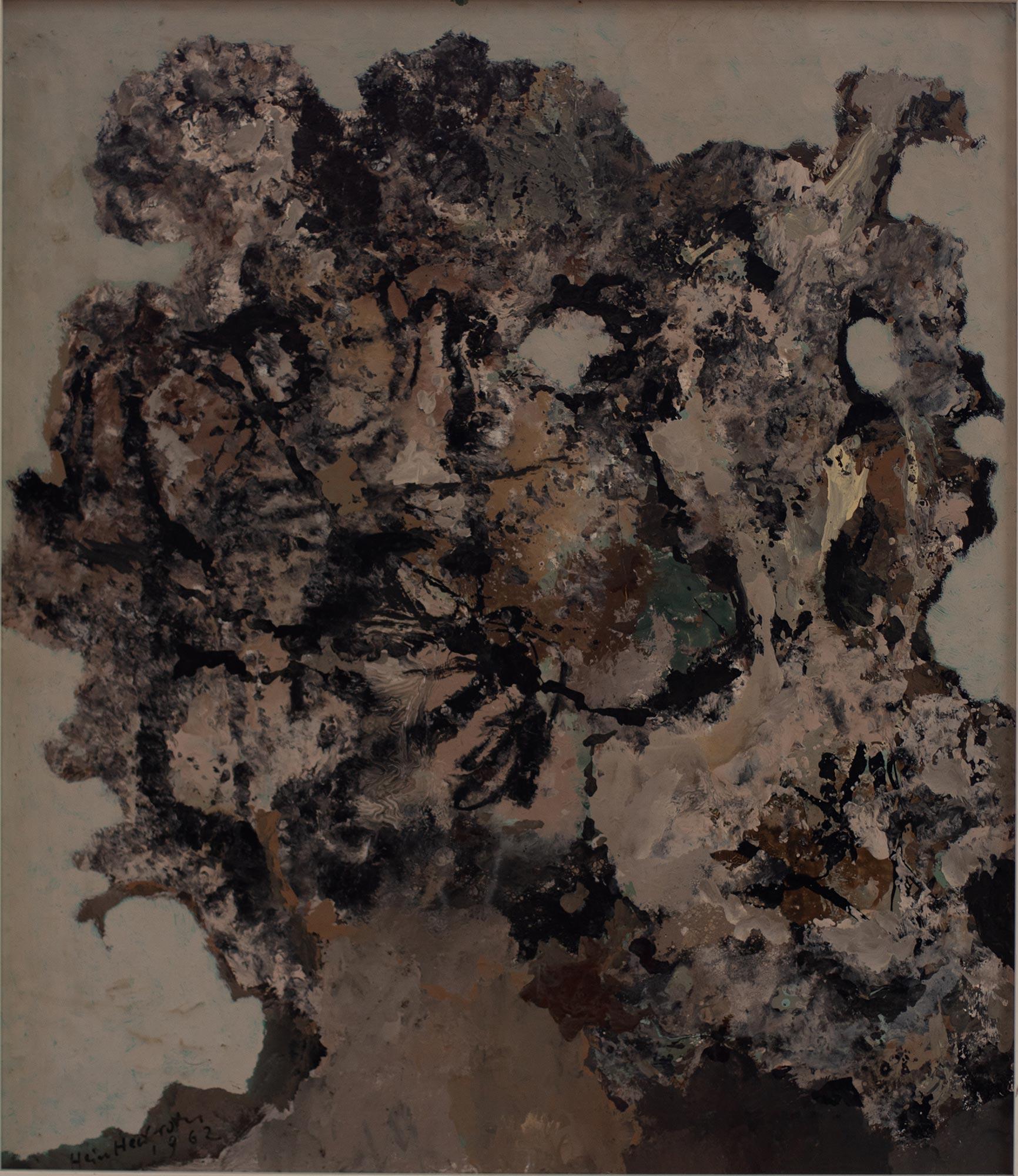 13 Hein Heckroth, o. T., 1962, Öl auf Holz, 57 x 49,5 cm, Privatbesitz