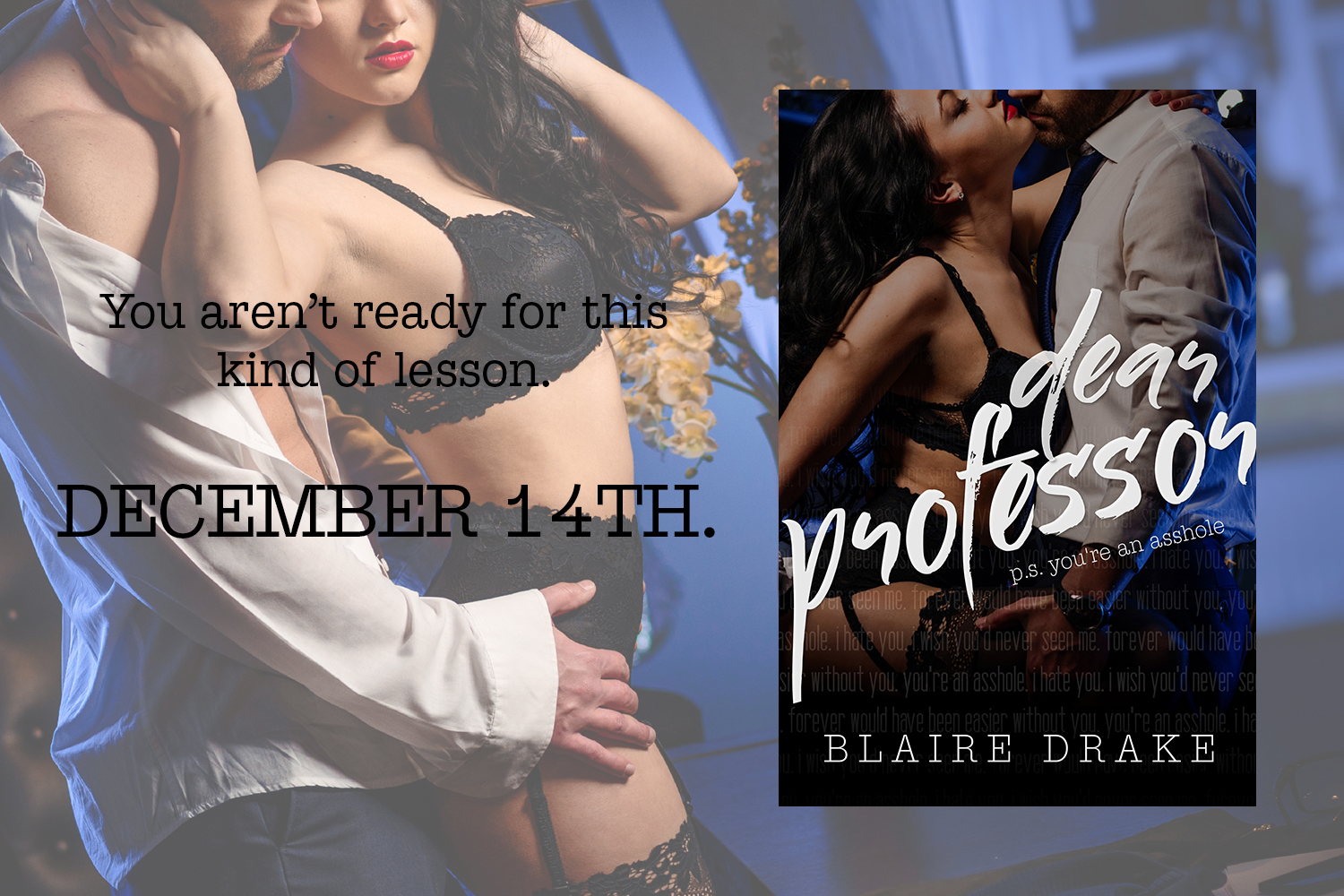 Dear Professor By Blaire Drake