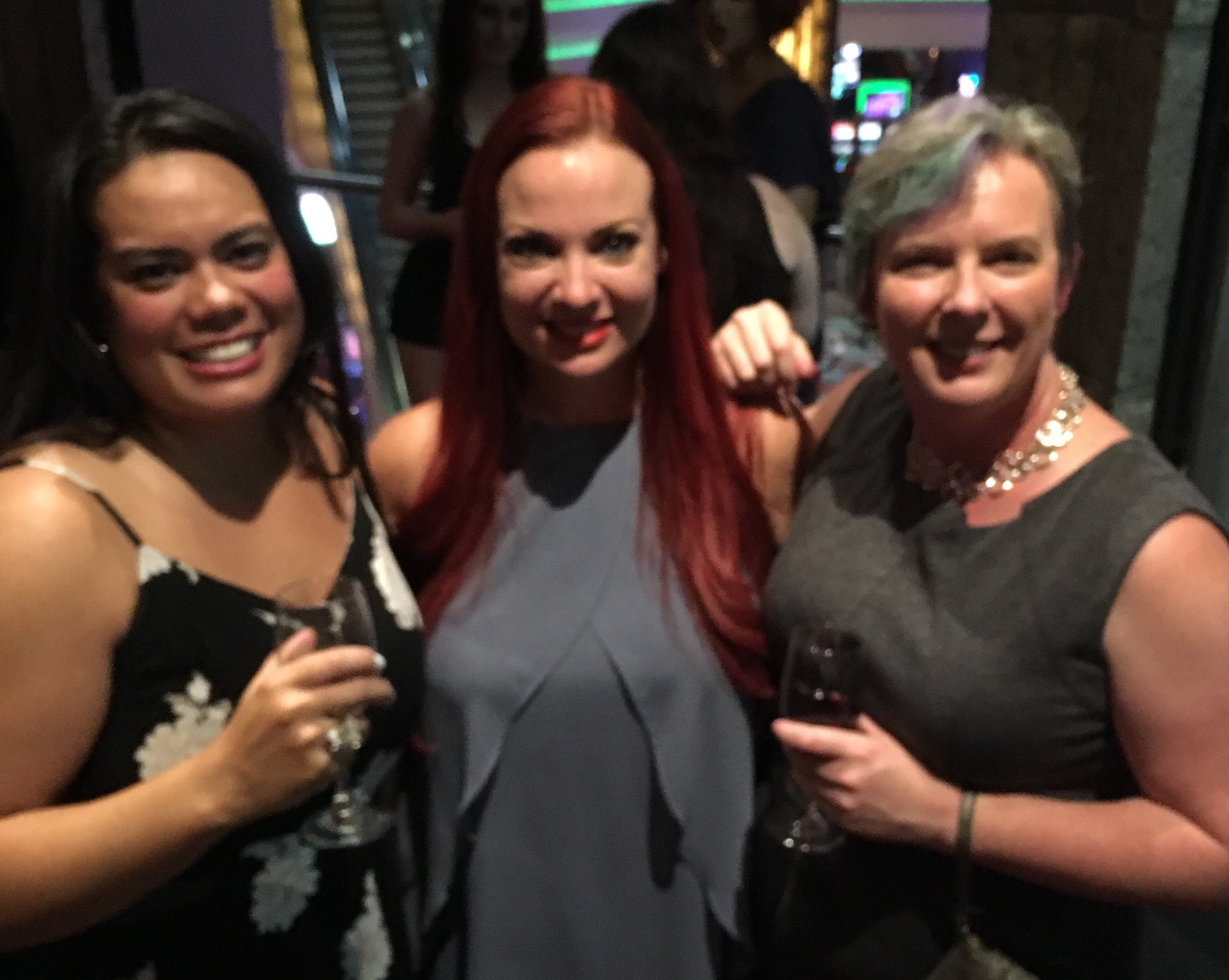 TM Frazier, April and Shanan from Reading After Dark book blog at LoveNVegas 2016