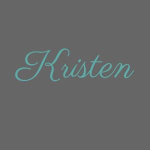 Kristen with Reading After Dark