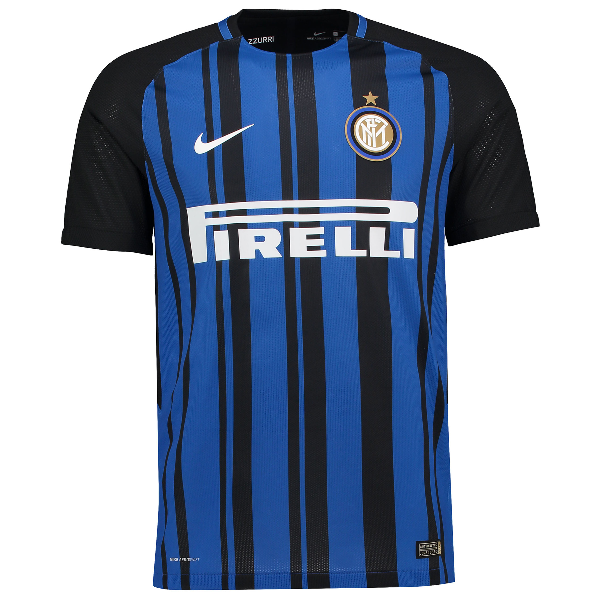 Inter Milan Home Shirt - 2017 (image courtesy of  Football Shirt Culture )