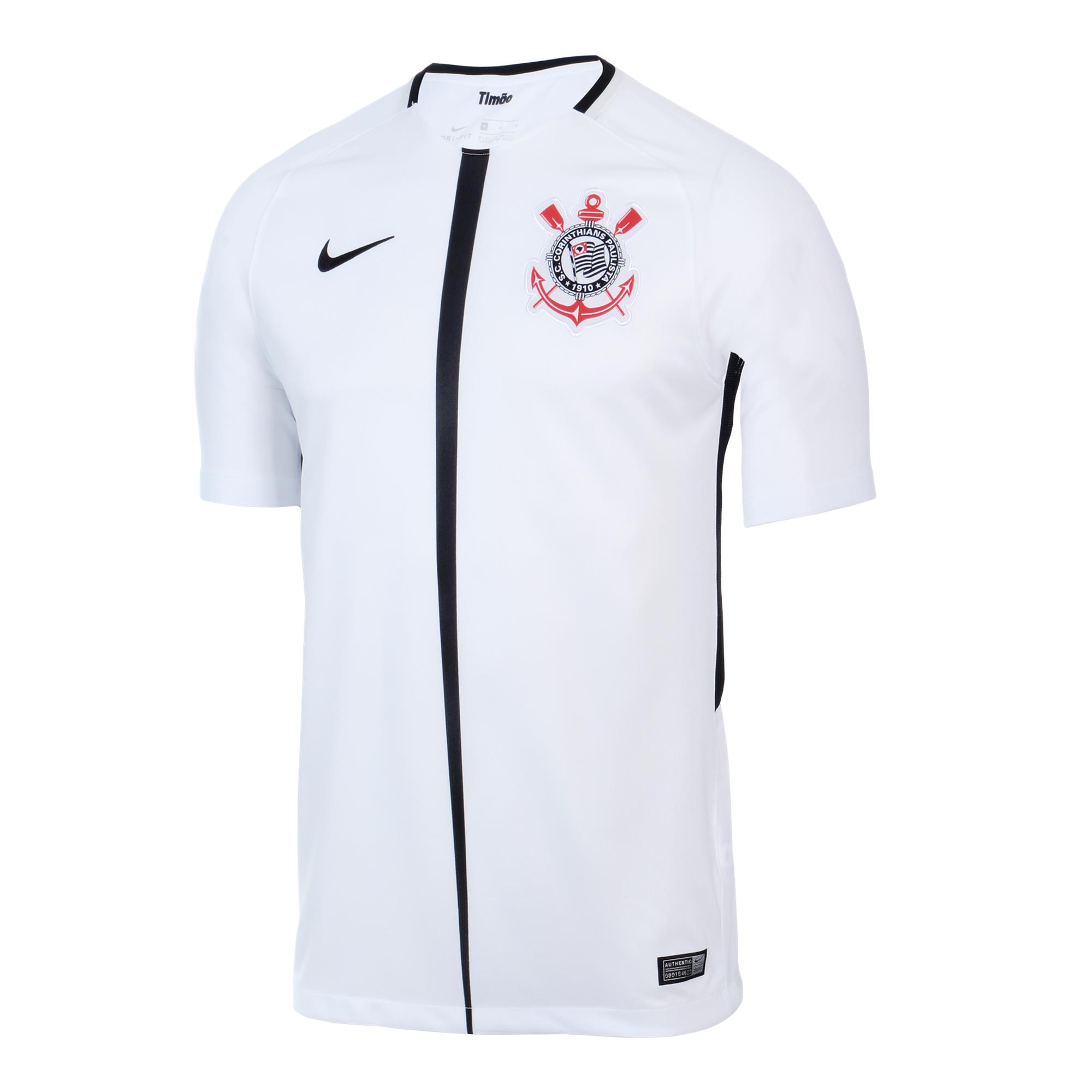 Corinthians Home Shirt - 2017 (image courtesy of  Football Shirt Culture )