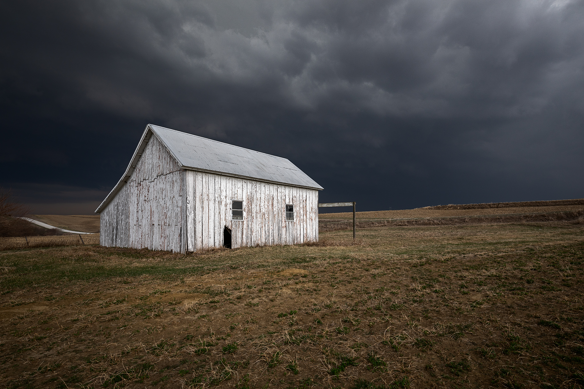 A stormy afternoon in rural Pottawattamie County
