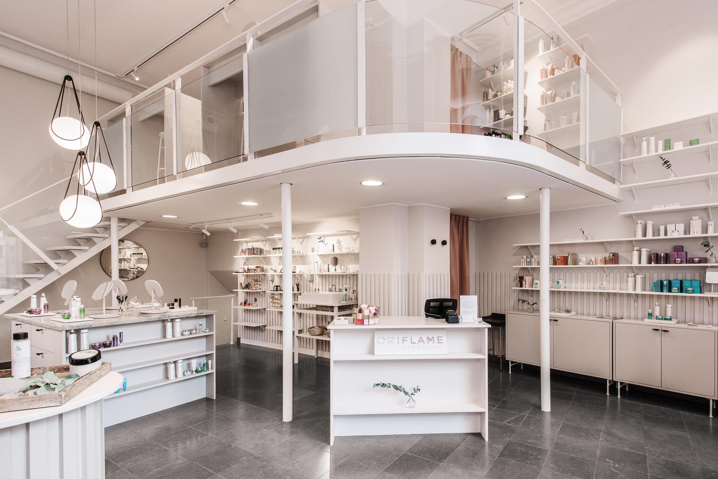 Inredningsarkitekt stockholm butik oriflame 3