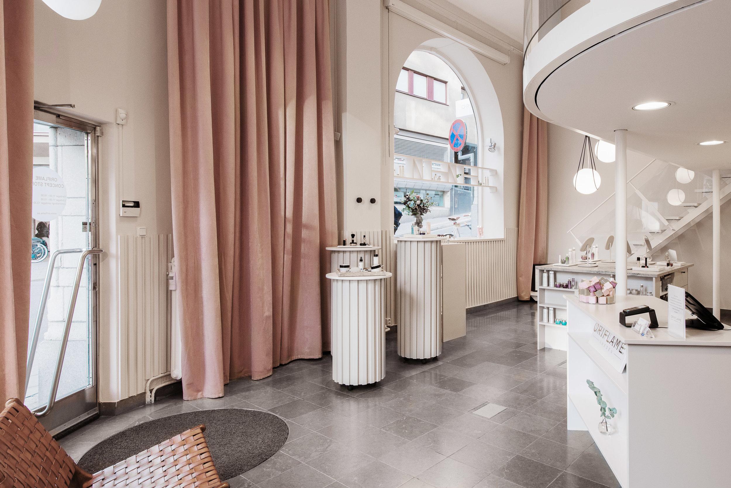 Inredningsarkitekt stockholm butik oriflame 7