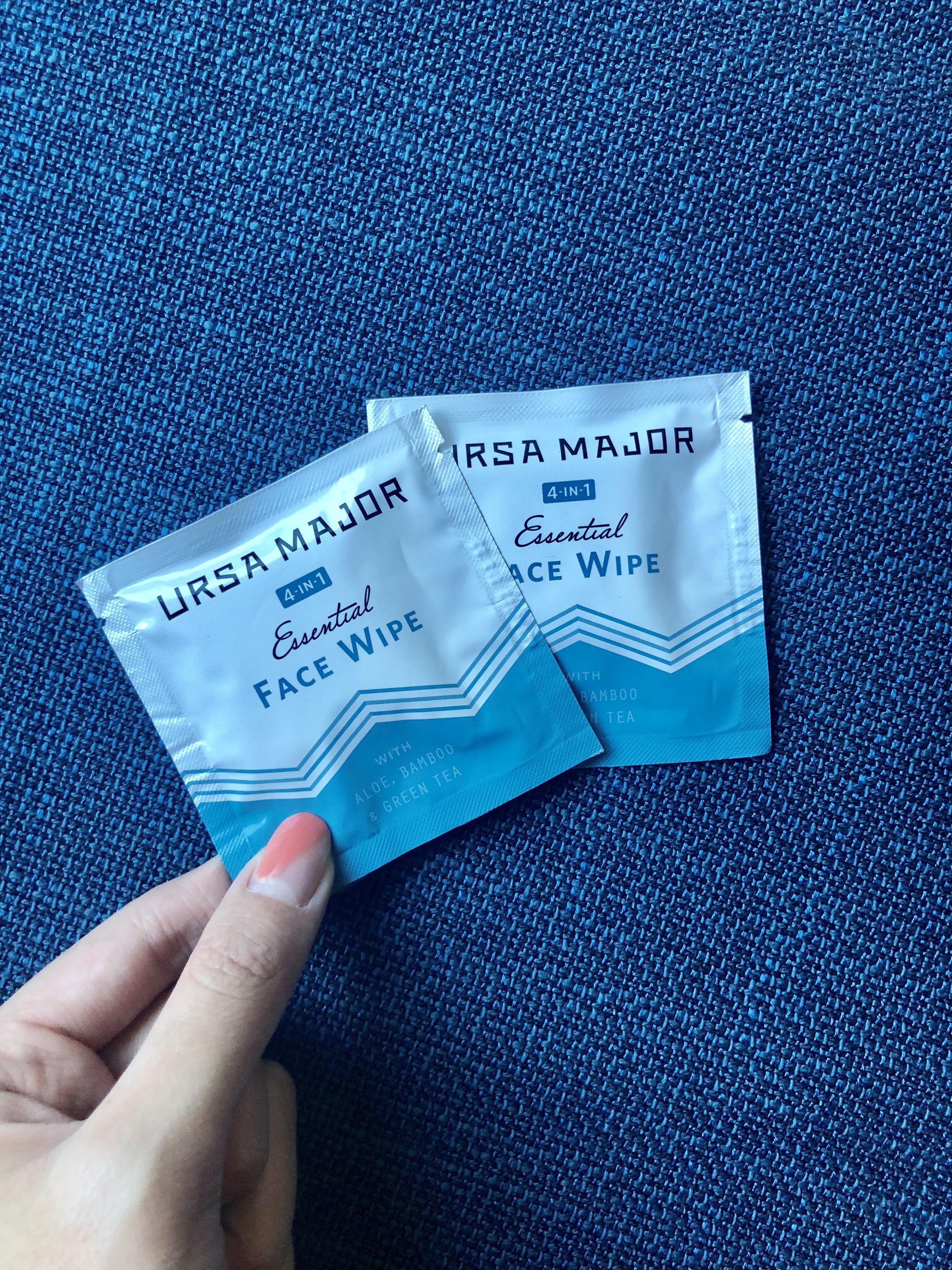 Ursa Major: Essential Face Wipes - Full-Size $24