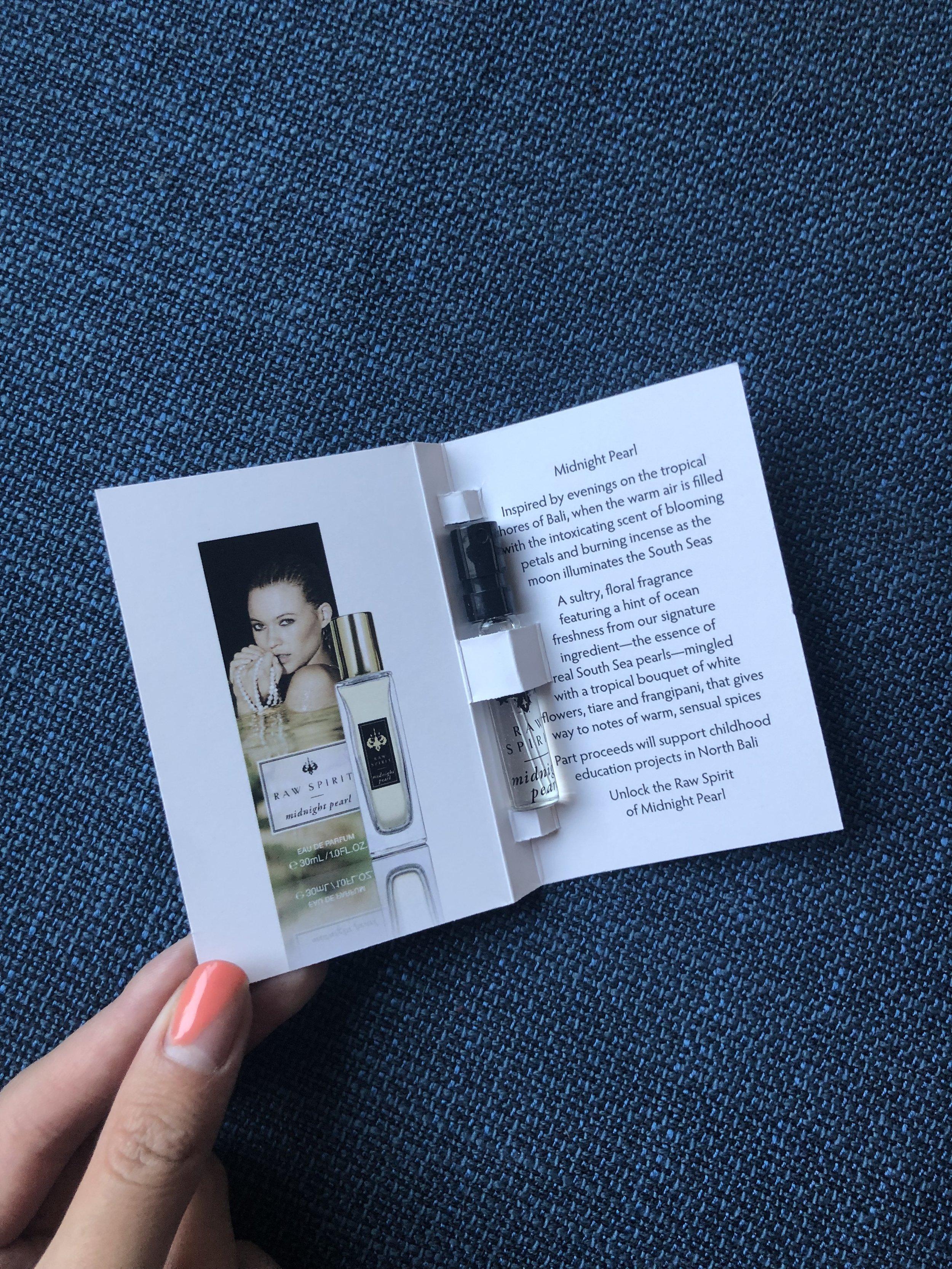 Raw Spirit: Midnight Eau de Parfum - Full-Size $85