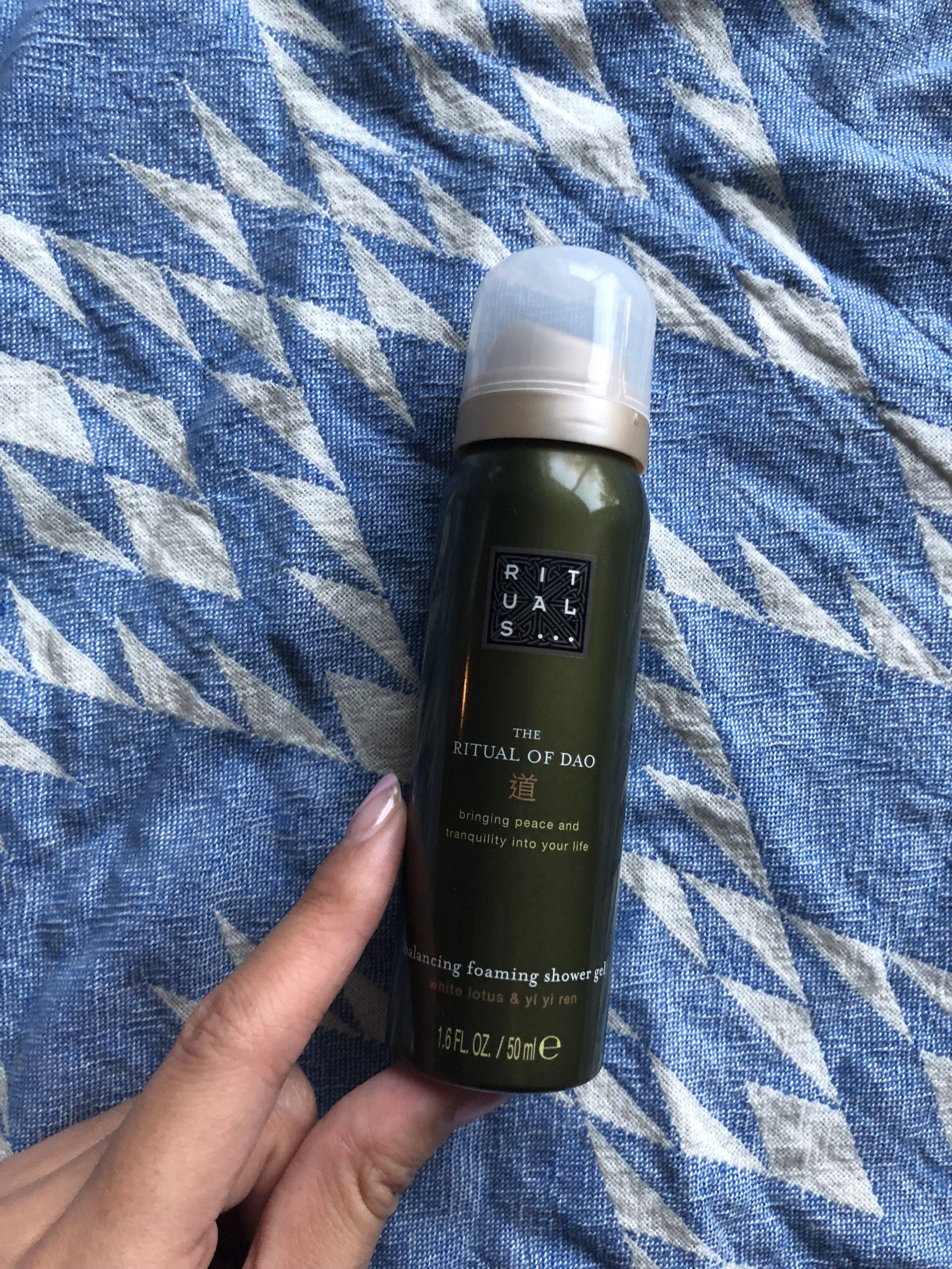 Rituals: Foaming Shower Gel - Full-Size $15