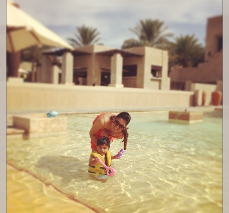 A staycation at bab al shams, my husband and I went on, with only our middle child