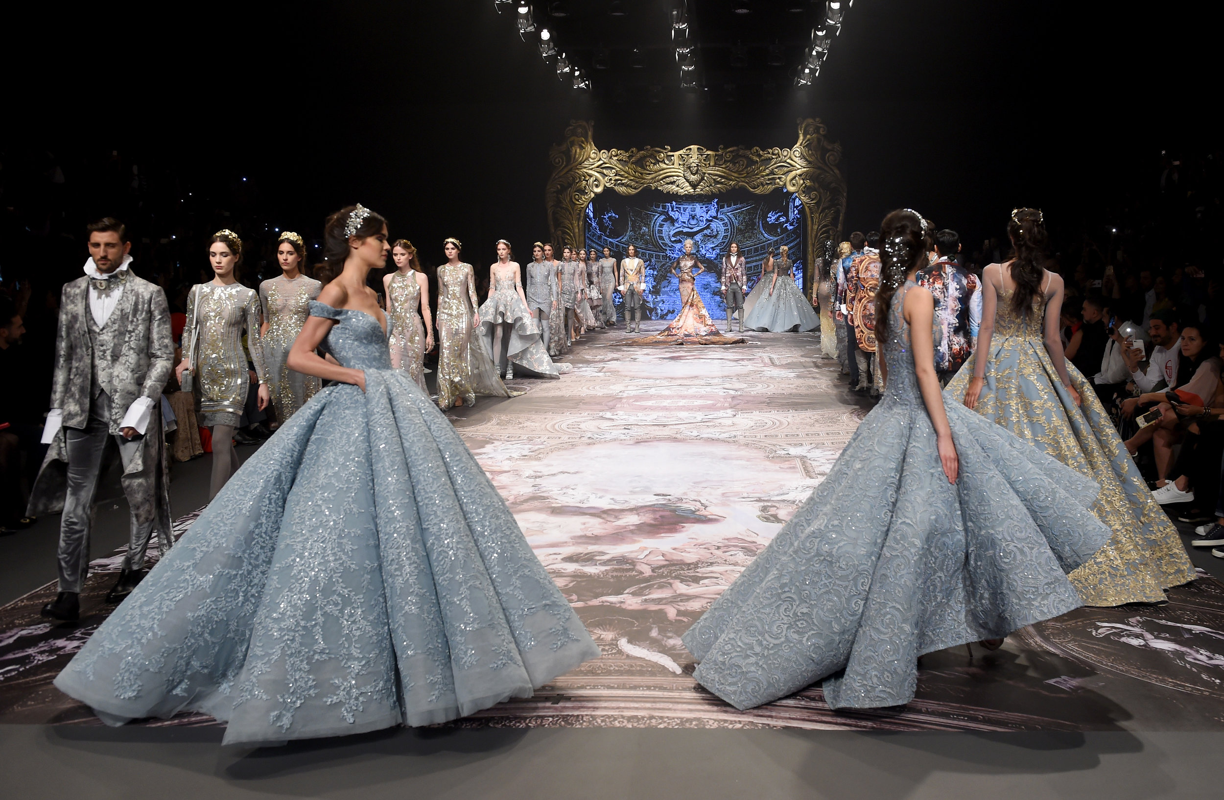 Couture king Michael Cinco had the audience in awe