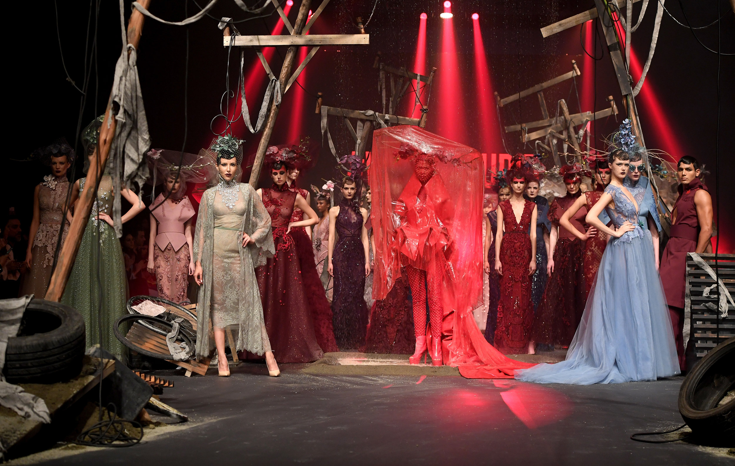 the icing on the cake - Amato's stunning runway show,