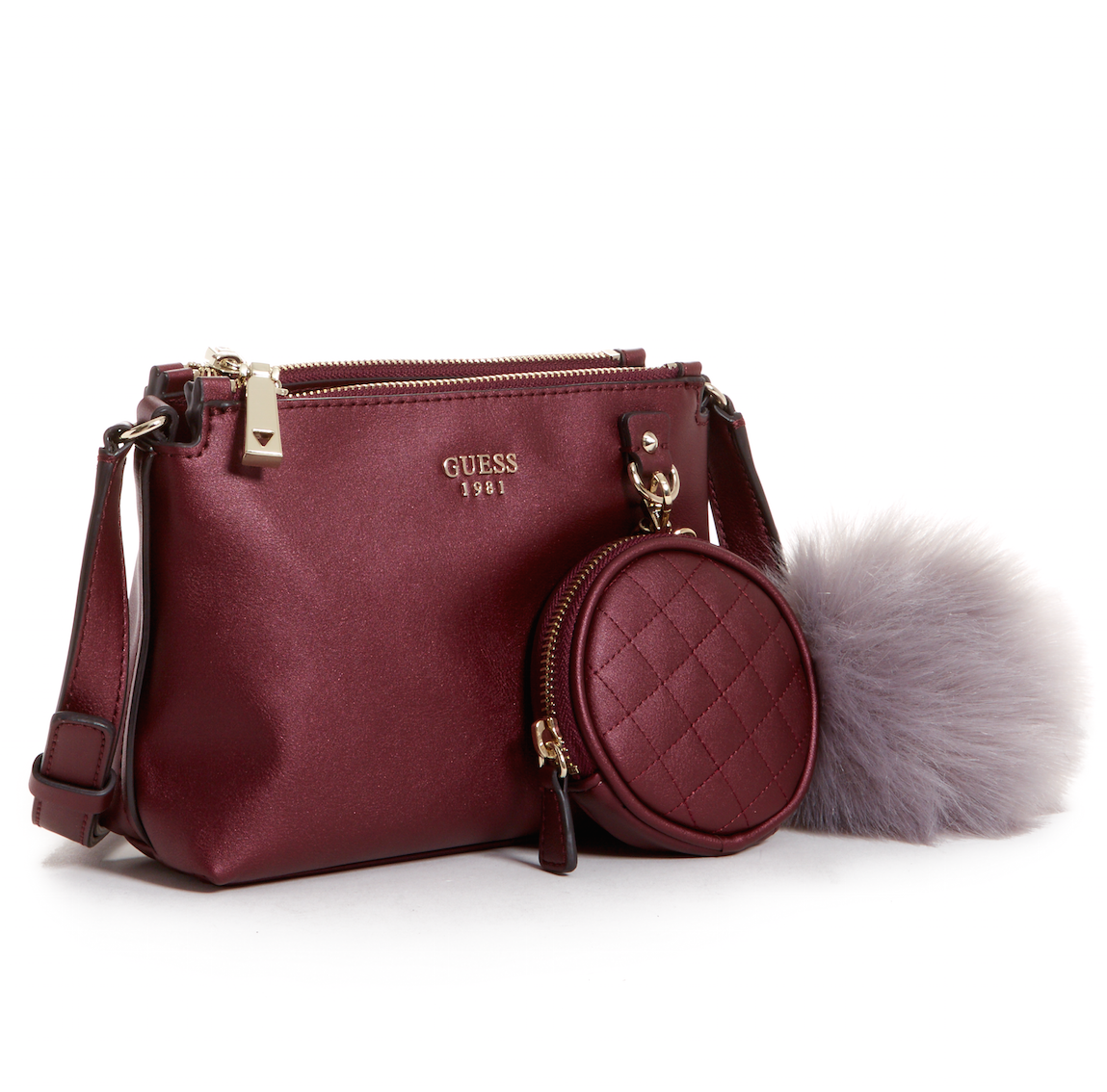 A Bordeaux Cross body is perfect for the holidays