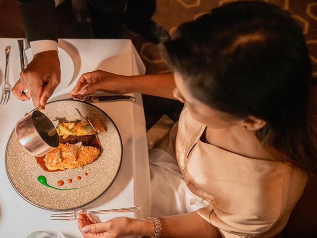 Perch up to the worlds highest restaurant @atmospheredubai and tuck into their special Iftar menu of four courses priced at Aed545