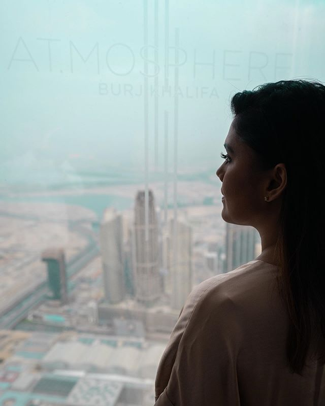 Where better to appreciate your city, the place you call home than from the ultimate vantage point- @atmospheredubai #worldshighest