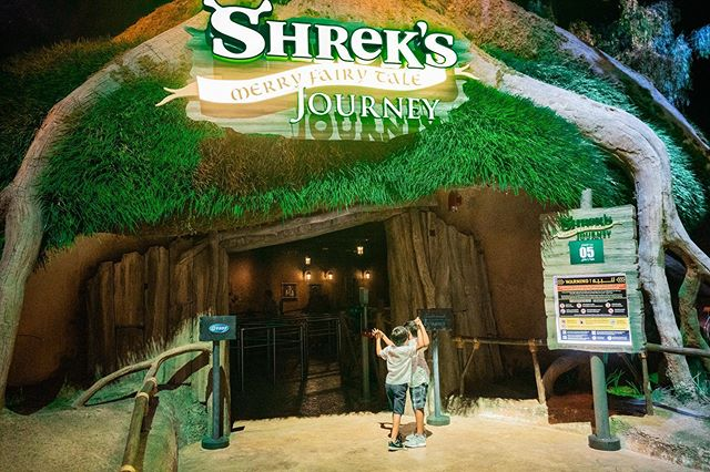 A special Iftar with Shrek @motiongatedubai where kids get to meet all their favorite characters from the Shrek animated series . Priced at a special rate of AED 260 just for the Ramadan season, this comes with an Iftar buffet (kid friendly) , Access to the park and rides. Beware parents : I Had to drag my boys out as they refused to leave. So make sure to come early as the kids will get to experience the entire park and tire them with the rides so they get knocked out and you can sneak them out. @dubaifoodfest @motiongatedubai @mydubai @visit.dubai #motiongatedubai #dubaifoodfest #RamadanInDubai #mydubai
