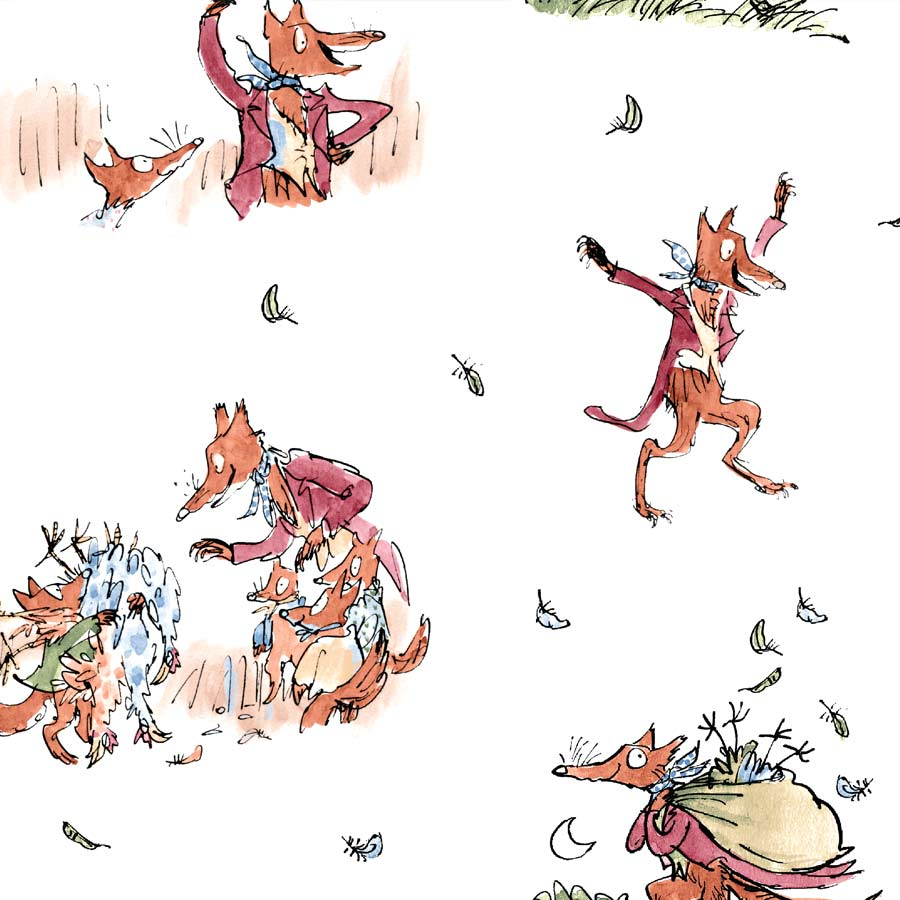 Fantastic Mr. Fox by Roald Dahl, illustrations by Quentin Blake