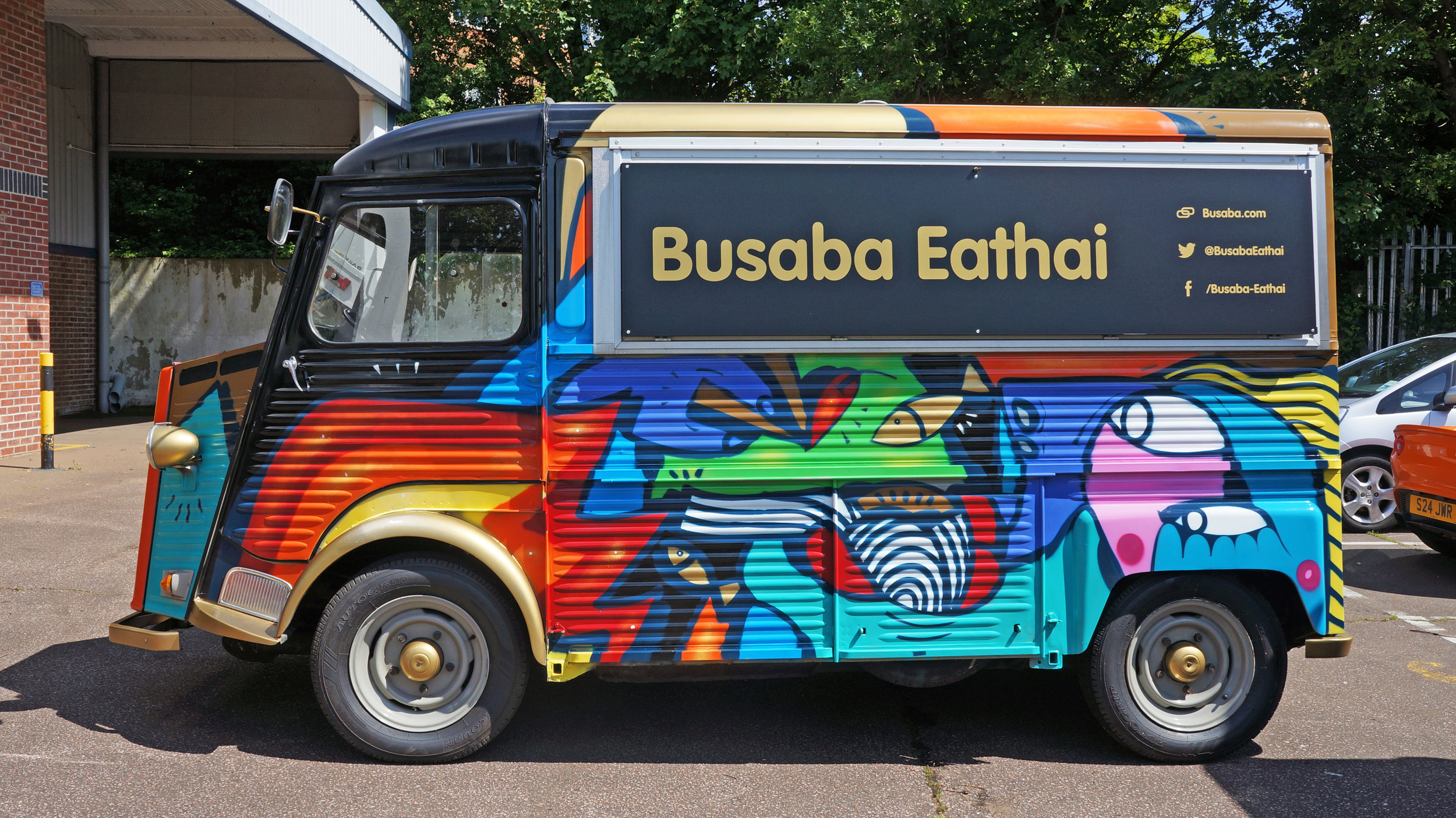 Streetfood van design