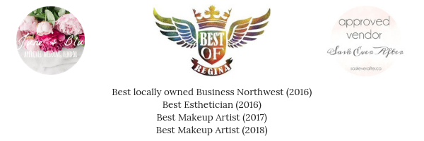 Best locally owned Business Northwest (2016)Best Esthetician (2016)Best Makeup Artist (2017).png