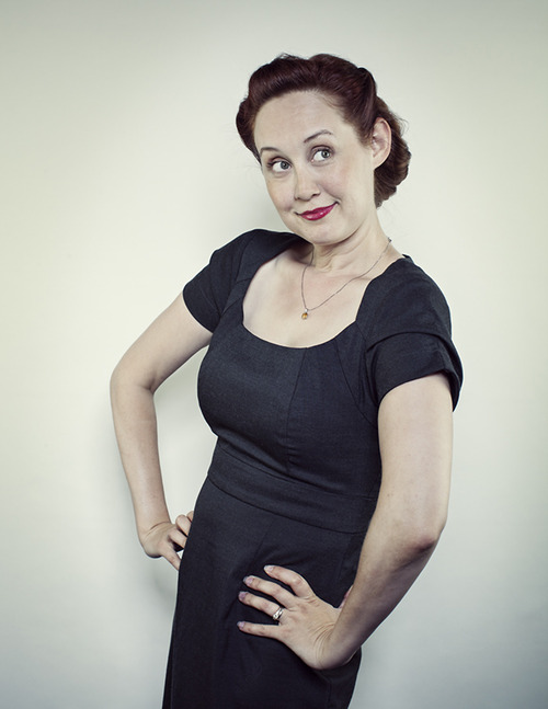 """Annie Savage is an LA based actress, writer and Podcaster. She starred in """"The Thrilling Adventure Hour"""" at Largo at the Coronet for 10 years."""