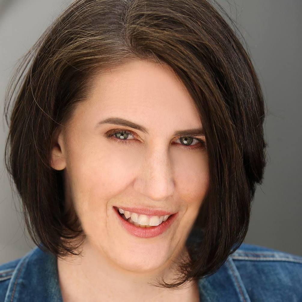 """Lynn Stein is a stand-up comedian and writer based in Los Angeles. Her satirical slant on marriage, motherhood and societal norms resonates with audiences of all ages and backgrounds. You can find Lynn performing in venues all over Southern California including Flappers Comedy Club, The Ice House and The Comedy Store. Recently, she was featured on Laughs on Fox and appeared at the 2018 Out of Bounds Comedy Festival in Austin. Other festival credits include the SheDot Festival in Toronto, Sonoma Laughfest and both the San Diego and Sacramento Comedy Festivals.  Lynn has trained at The Groundlings, UCB Theatre LA and iO West. She has a B.S. in Psychology from the University of Oregon and while living there was crowned the 2nd Funniest Person in Eugene, OR. She lost that competition to a dummy. An actual wooden dummy named """"Hot Karl"""". Now please stop reading Lynn's bio. It's making her feel very uncomfortable that you know so much about her. Will this be on the Internet? The Internet makes Lynn's Mom very nervous."""