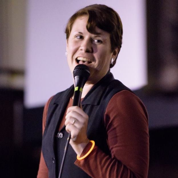 """Whitney Streed is a comedian because if they were not, their incessant punning would have no artistic or monetary value whatsoever. Festival appearances include Seattle Sketchfest, Bumbershoot, and All Jane, as well as Portland's Bridgetown Comedy Festival both as a performer and, from 2013 to 2017, a producer. Whitney can seen playing a feminist on three seasons of IFC's hit show """"Portlandia,"""" and one time their face was on the background of Amazon Video home screen for a couple days, that was pretty cool."""