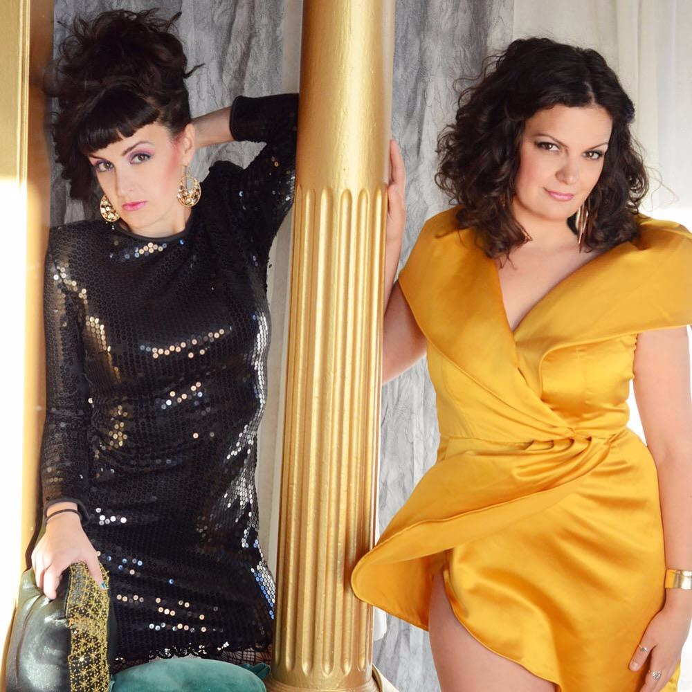 """The Puterbaugh Sisters, Tiffany and Danielle Puterbaugh are the first alternative sister duo act since vaudeville. Real life sisters, they're parents relationship has failed, but their act will not. Originally from Chicago and currently based in LA.  """"Taking their shtick into absurdist parallel universes.. it works 100% of the time."""" - The Onion AV Club  """"Named Chicago Comics to watch"""" - Chicago Magazine  You've seen these sisters everywhere, featuring at CVS and headlining Walgreens. They've opened for Kyle Kinane, Bridgette Everett, Judy Tenuda and Beth Stelling.  They've also performed at TBS Just For Laughs Festival, Riot LA, """"Best Bars in America"""" (Esquire), Bentzen Ball Comedy Festival (DC), High Plaines Comedy Festival (Tru TV), The Andy Kauffman Awards (NY- Gotham) , All Jane Comedy Festival (Portland) and NY/Chicago/San Francisco Sketchfest. They produce a critically acclaimed variety show """"Entertaining Julia"""" running for 8 years in Chicago and now in its 9th season monthly at Akbar, Los Angeles.  It's like watching Sister Act 2, when everyone comes out and raps about God."""