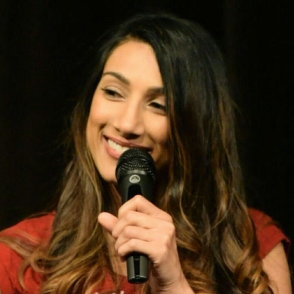 """Comedian, Actor, & Writer Sonya Vai was born and raised in New York City but is constantly asked """"where are you really from?"""" by drunk men in bars. Sonya is a paid regular at both Carolines on Broadway and New York Comedy Club. She also performs at Gotham Comedy Club, Broadway Comedy Club, Greenwich Village Comedy Club, West Side Comedy Club, LOL Times Square, The Grisly Pear, and the Village Lantern. In November, Sonya was in the New York Comedy Festival where she co-produced Facial Recognition Comedy, a show dedicated to showcasing female-identifying South Asian comedians. FRC was featured in the New York Times as one of top 5 shows to see at the Festival. Most recently, Sonya featured for the critically acclaimed comedian Judah Friedlander in NYC."""