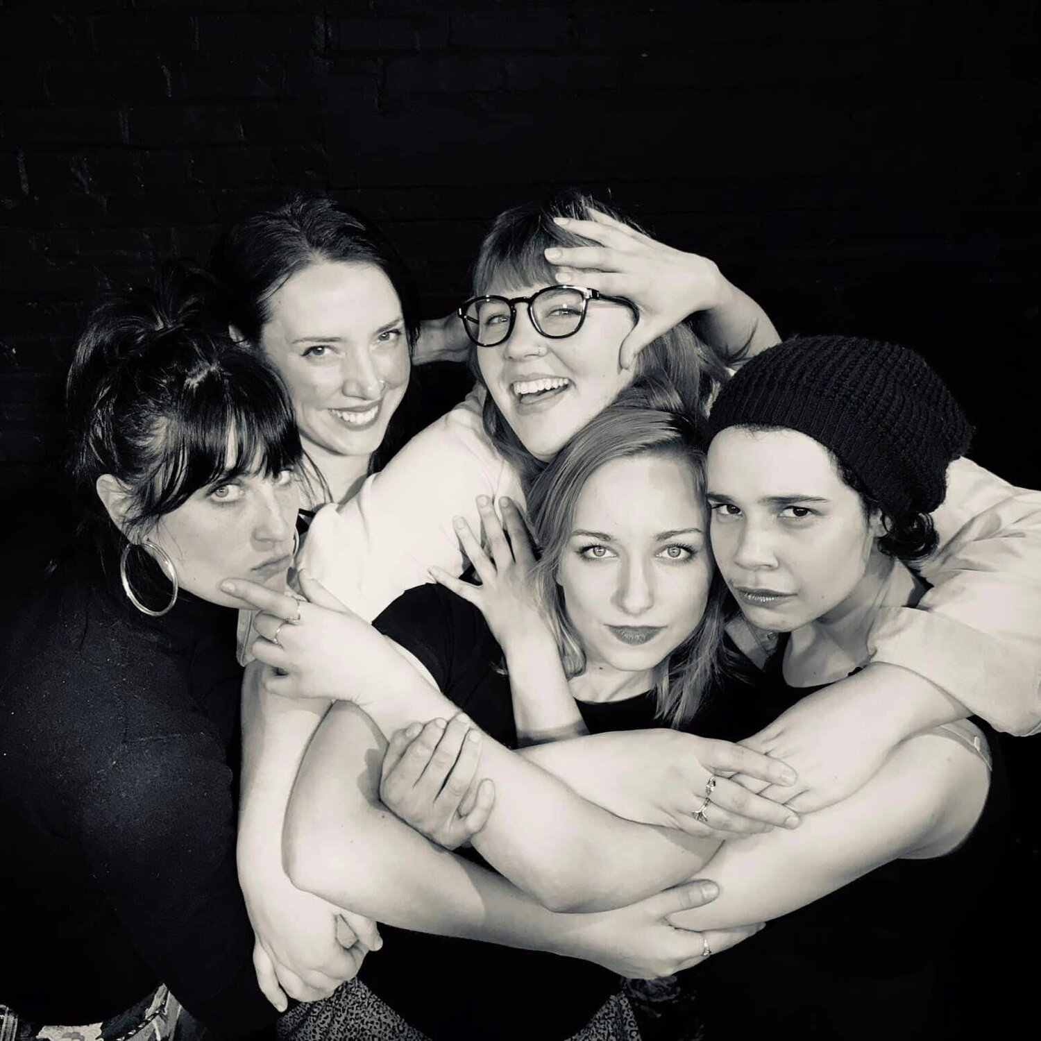 Mom Jeans is an all-female improv troupe from Portland, Oregon. We've have been performing together for three years at almost every improv location in town, including residencies at Kickstand Comedy, where we produce a monthly show. Mom Jeans displays a powerful ability to walk the line of the real and surreal, the absurd and the grounded. We follow the show wherever it goes with genuine and earnest enthusiasm, and we have absolute trust in each other that shows on stage. Plus, we're five bad-ass ladies.