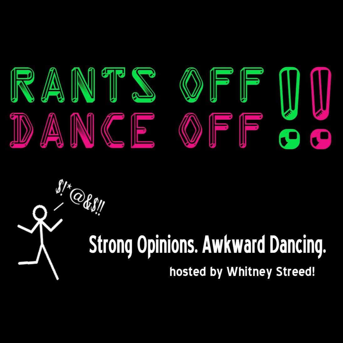 A game show in which comedians compete using their wits and dance moves. Hosted by Whitney Streed.