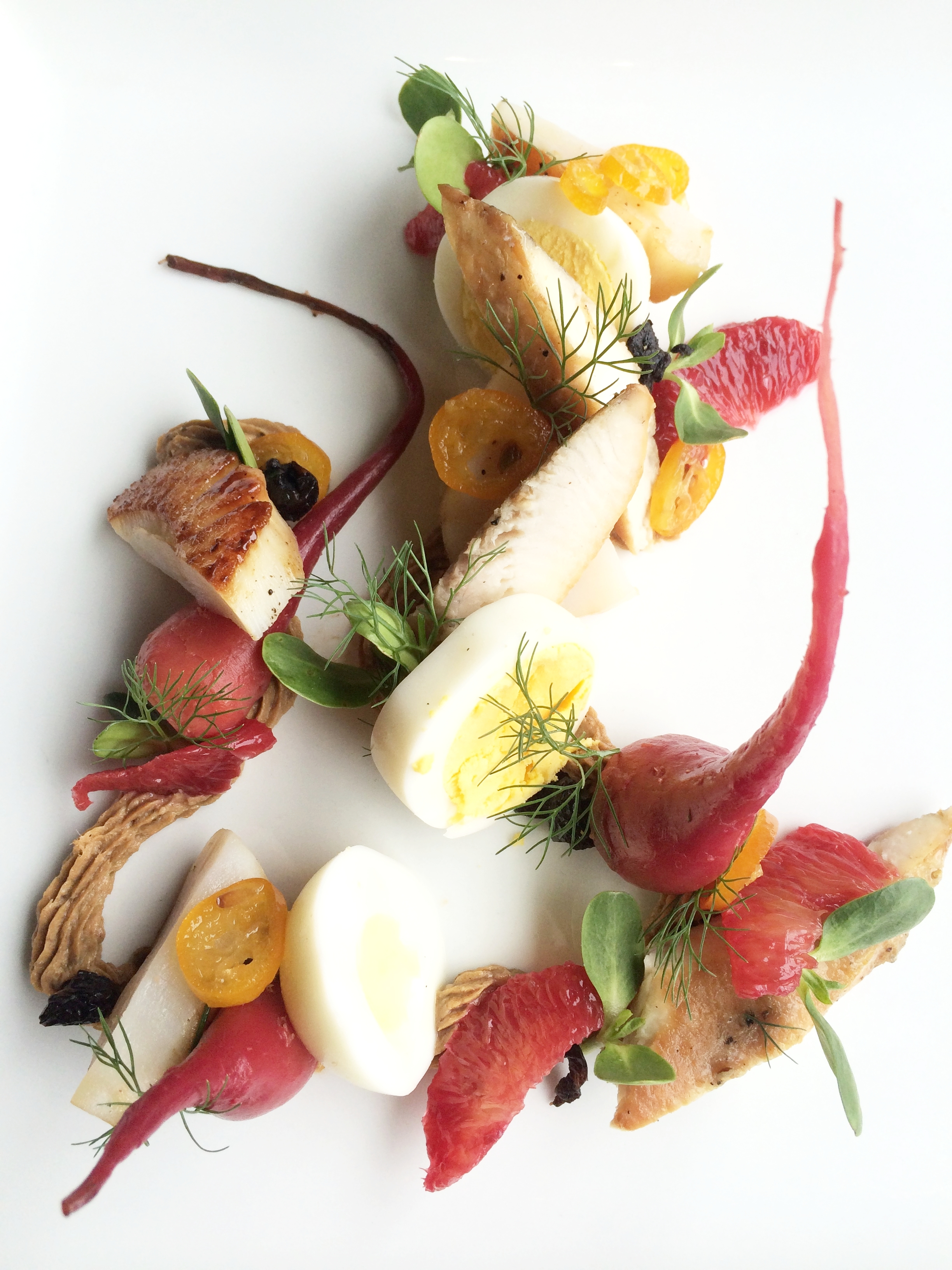 Chicken Liver Pate, Smoked Sturgeon, Hard Cooked Egg, Pickled Beets