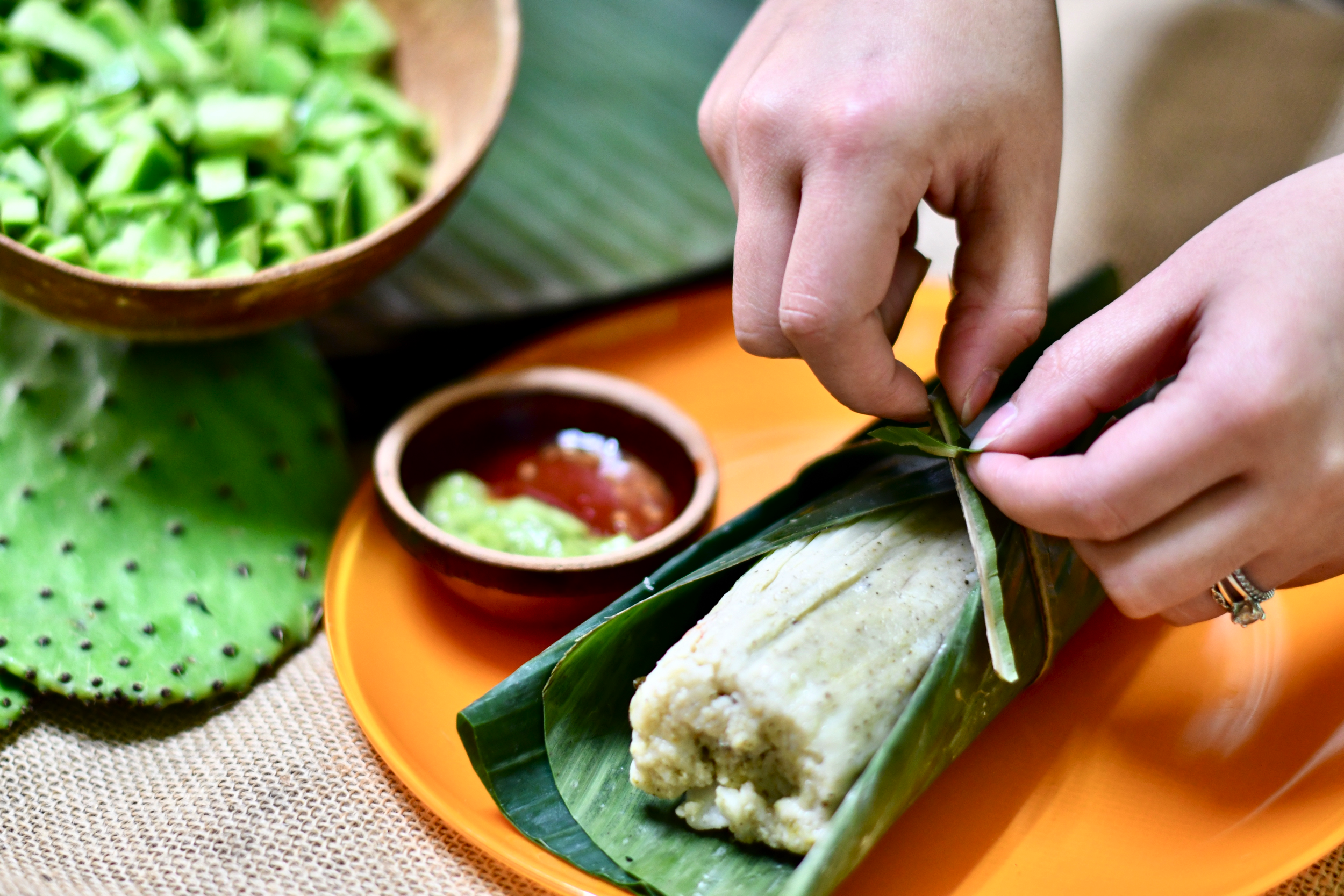 Cooking Class: Making Tamales