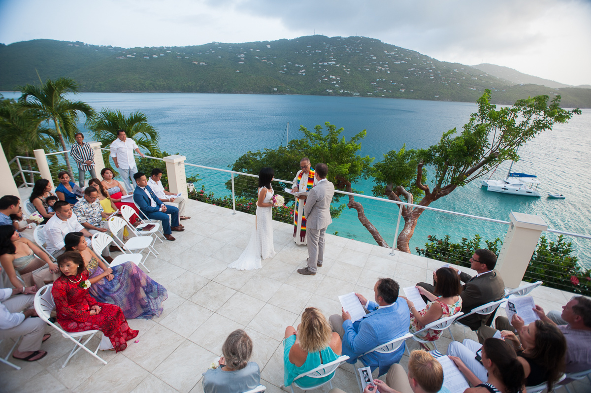 Beach Wedding by Dallas Wedding Photographer in the Virgin Islands
