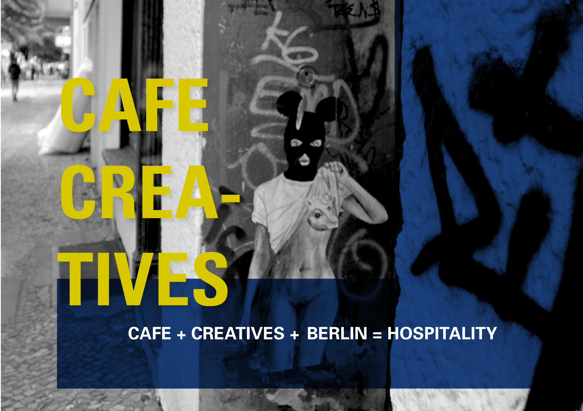"""THE PROJECT   Reimagine hospitality. Think of a way to design a hospitality experience for creatives.For those who criticize over design. How do we introduce a hospitality experience for """"tourists"""" while preserving Berlin's unique embrace of its small creative industries that gives creatives a place to """"live to work, not work to live."""""""
