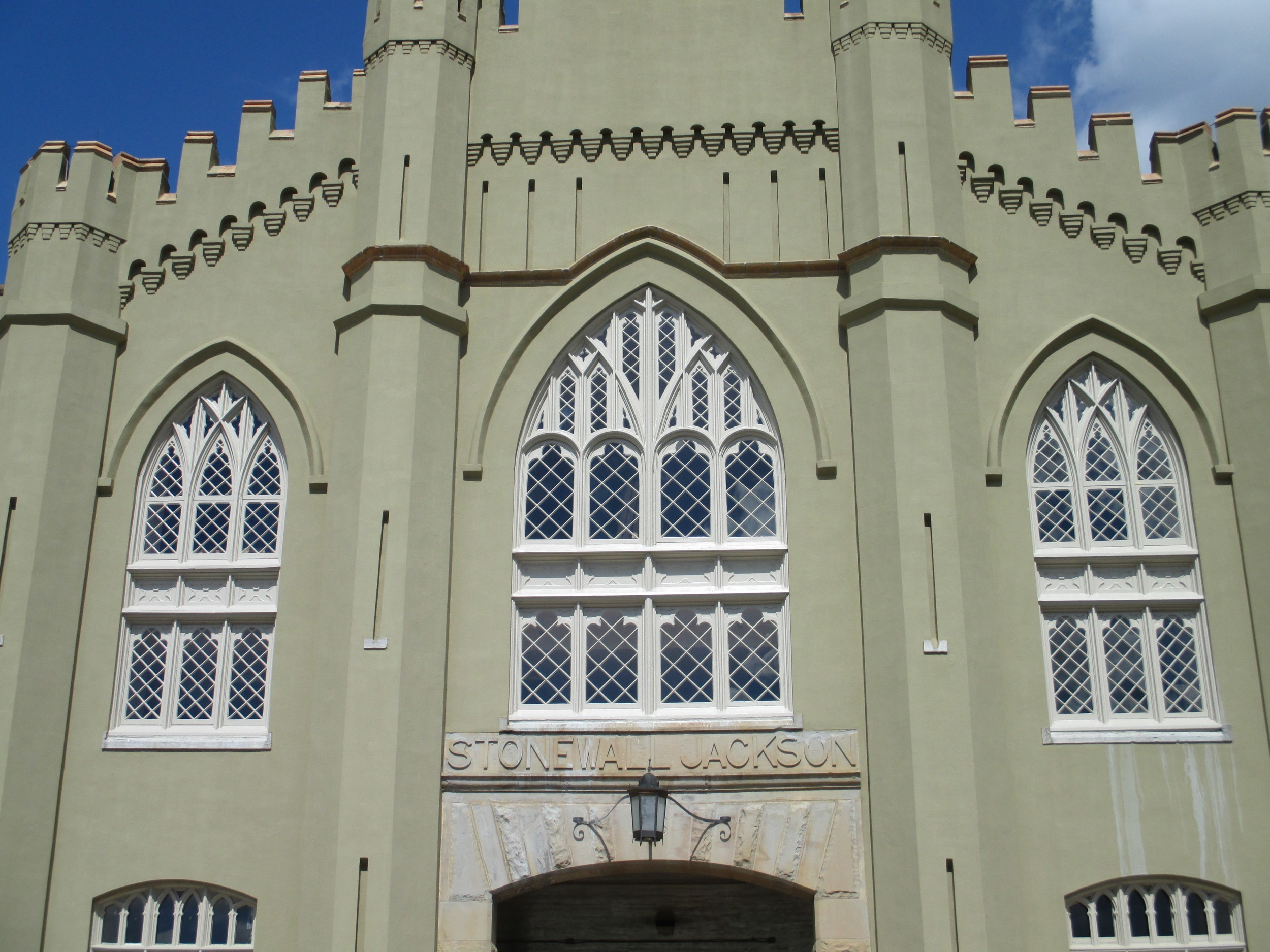 Virginia Military Institute, Window Restoration