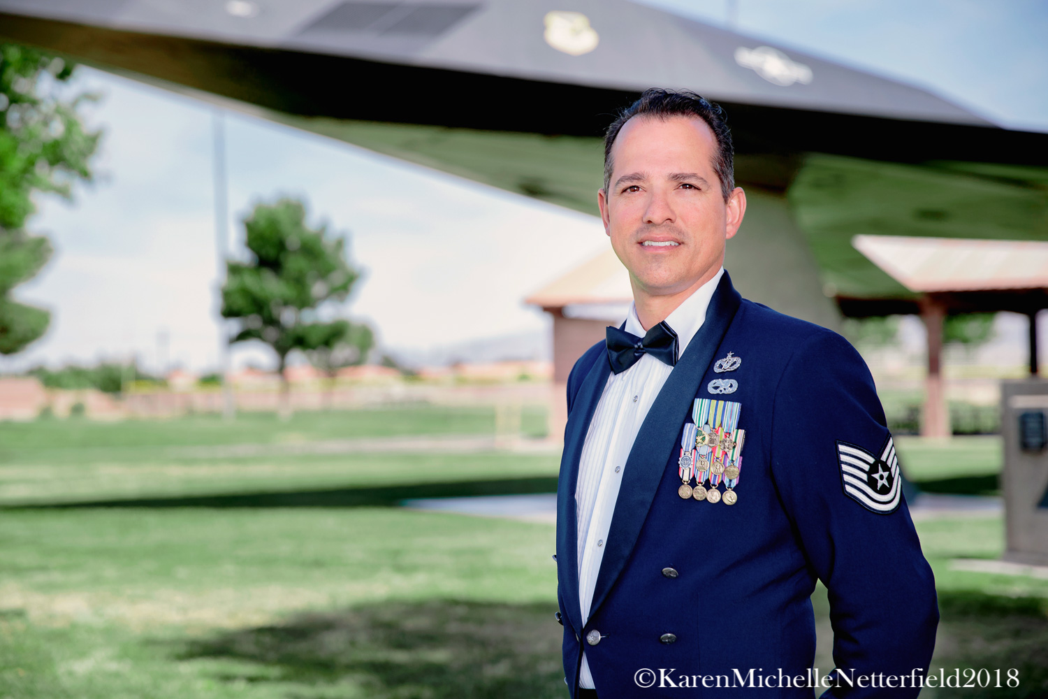 Nellis_Air_Force_Base_E6_NAFB_Dress_Blues©KarenMichelleNettefield2018.jpg