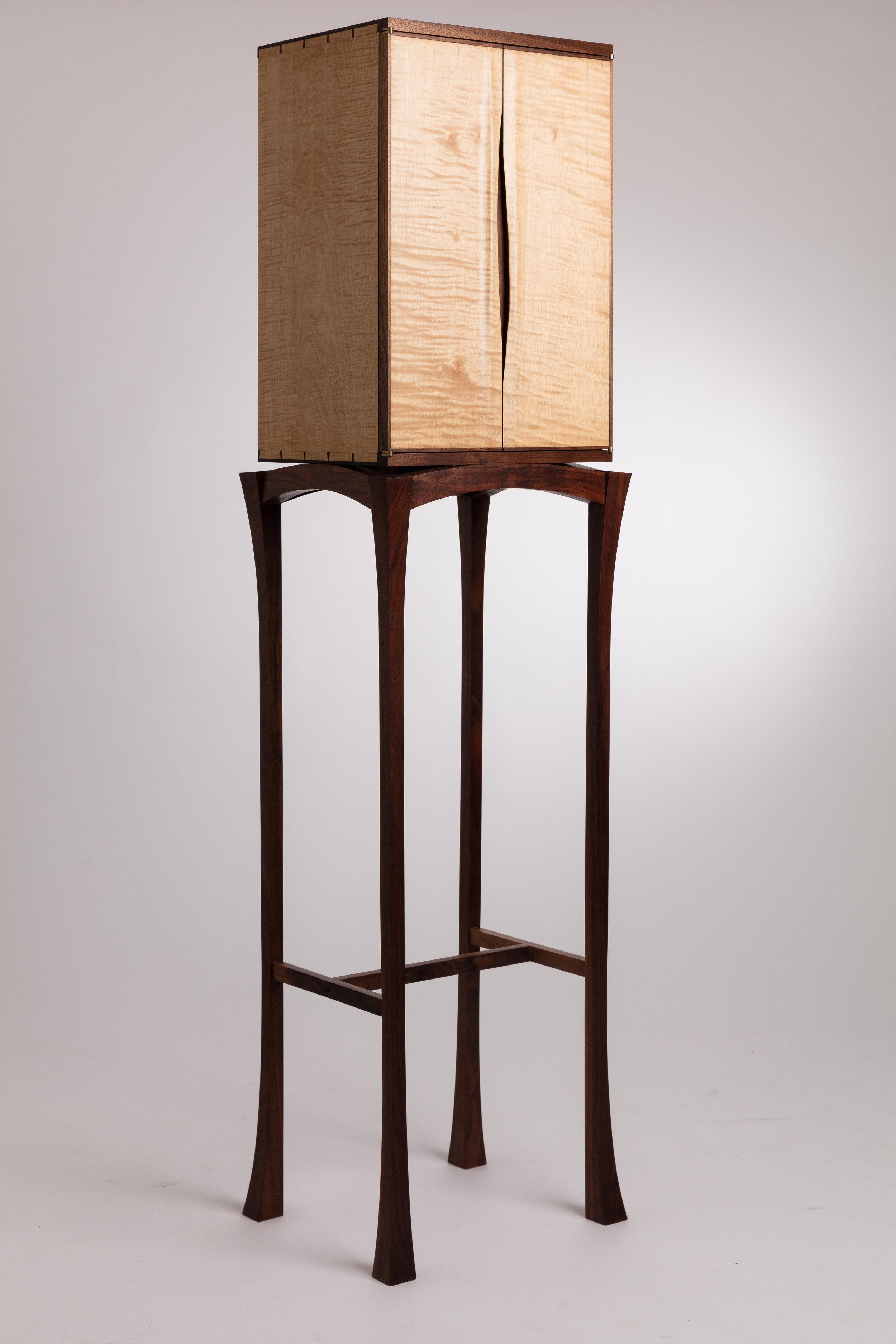 Bespoke ripple sycamore cabinet.jpg