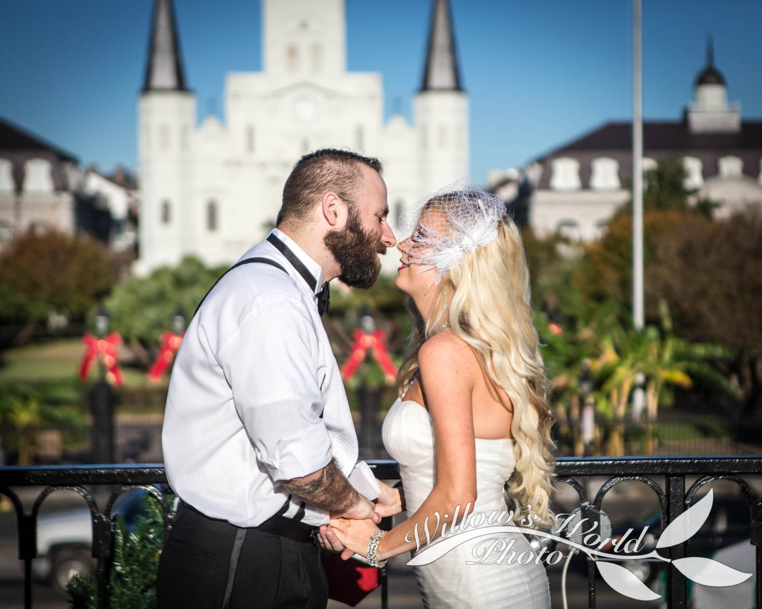 One of the best parts of organizing your own intimate ceremony is that you can kiss as often as you'd like...