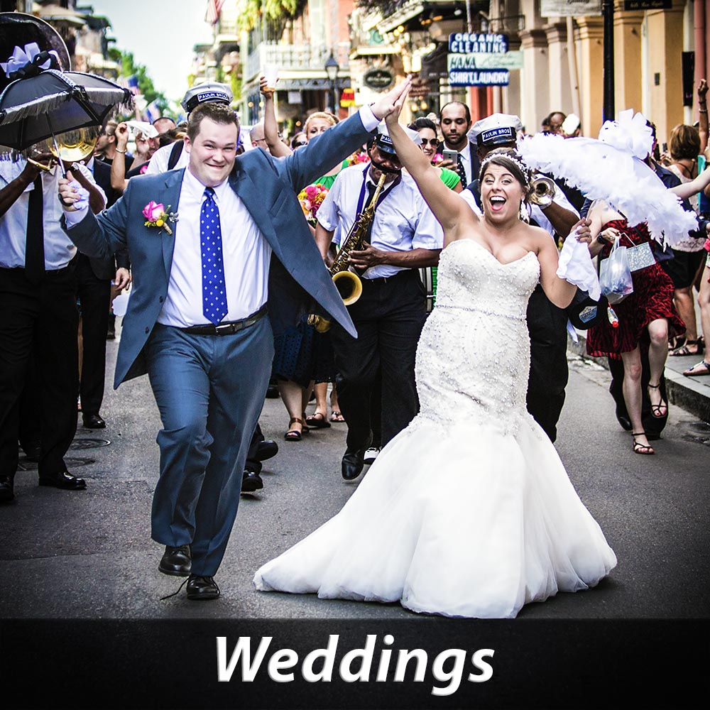 Click to See NOLA Wedding and Engagement Photos