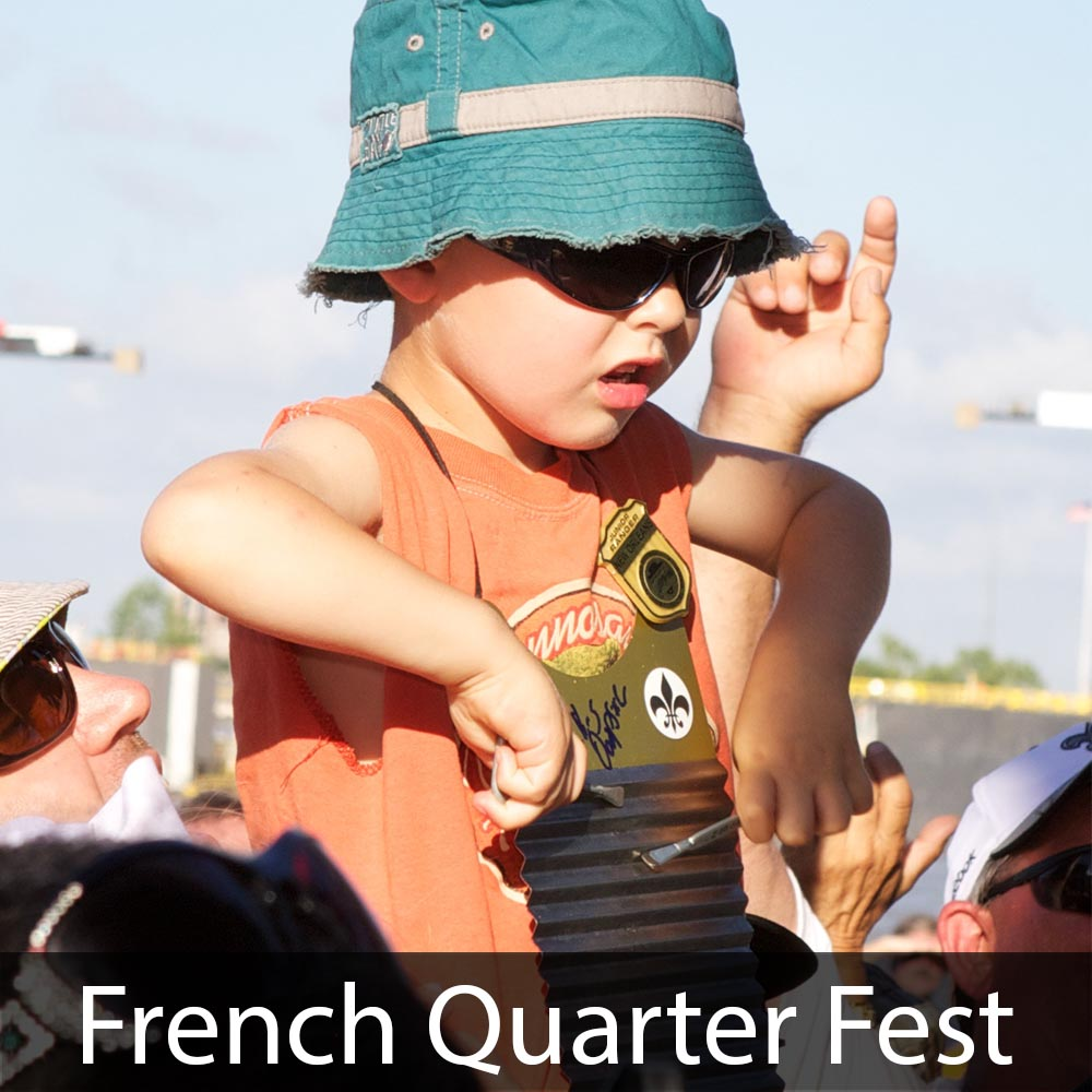 New Orleans French Quarter Festival Photos