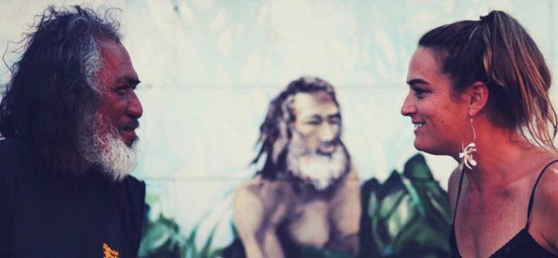 Wailuku kalo farmer makes contact.