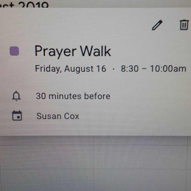 Hey friends, hope you've had a great summer! This is short notice I know but come join me TMRW at 8:30AM at the middle school (by the FB field) to pray. We'll start at the middle & then head over to the high school. Come pray for your year ahead, for your friends, for your Teachers, etc. Hope to see you there!