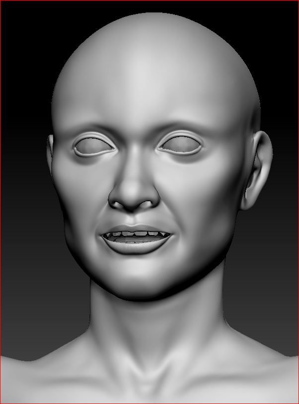High Poly Face