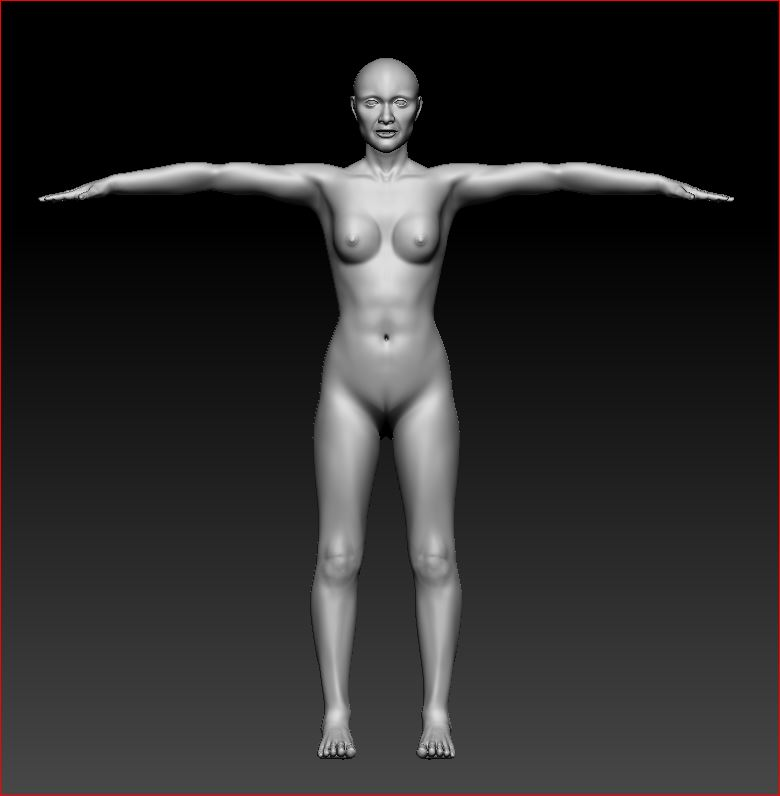 Full Body - Front