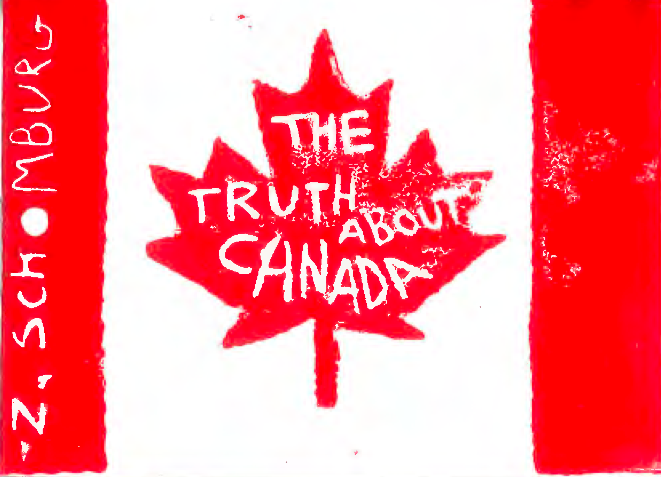 The first thing ever published of mine, that was just mine, with just my name on the cover, before  The Man Suit , and before a chapbook called  Abraham Lincoln's Death Scene  published by  Horse Less Press , was a little tiny side poem put out by Maureen Thorson of  Big Game Books . That little thing made me so proud. Its poem,  The Truth About Canada , made its way into my first book soon after. Maureen  has since started digitizing these tiny side books , of which mine was the 11th, and they're now available on Big Game Books' website.